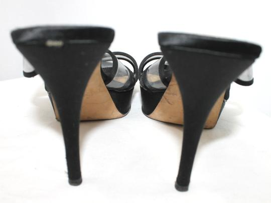 Saint Laurent Ysl Yves Heels BLACK Platforms