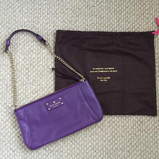 Kate Spade Wellesley Byrd Leather Chain Small Shoulder Bag