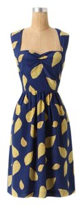 Anthropologie Retro Silk Dress