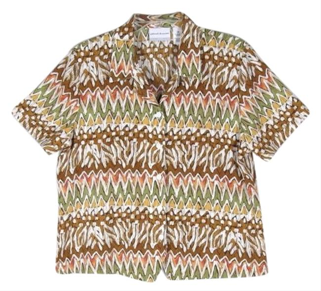 Alfred Dunner Top Multi-Color