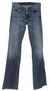7 For All Mankind Minkind Boot Cut Jeans-Medium Wash