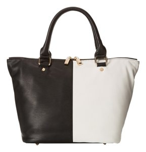 deux lux Satchel in Black/White