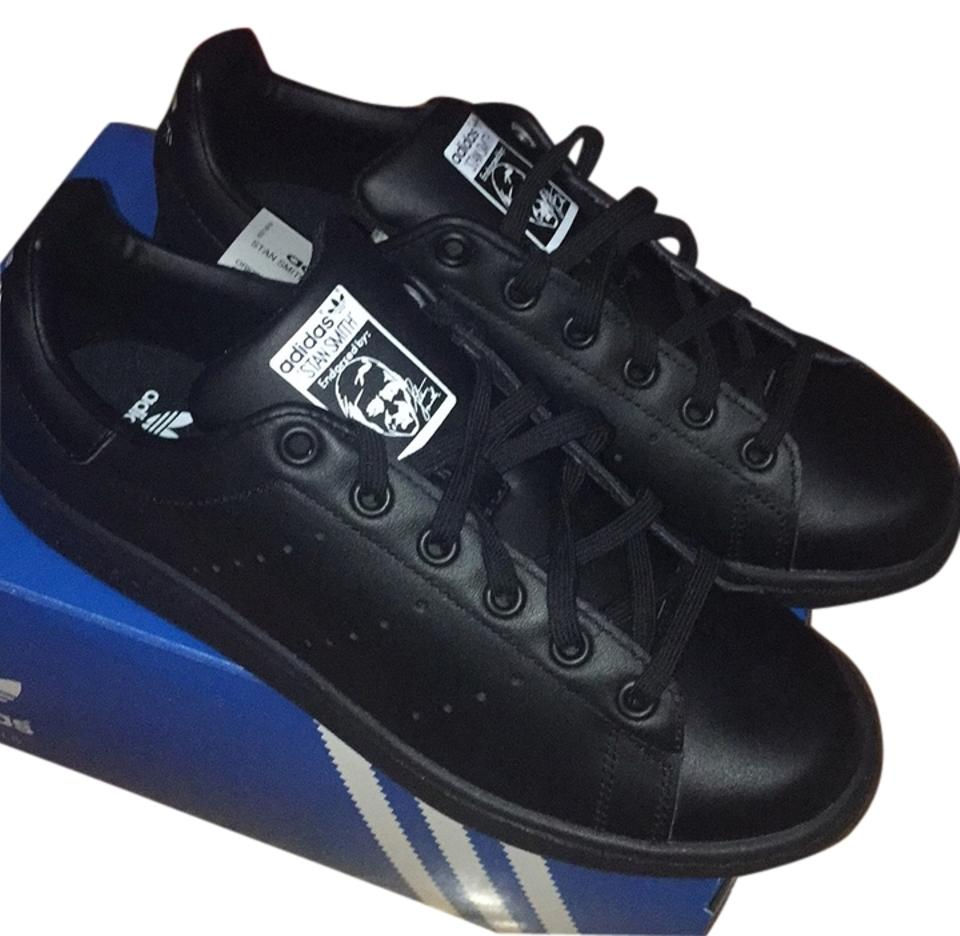 lady adidas Sneakers Black Stan Smith Sneakers adidas Rich on-time delivery 9f4893