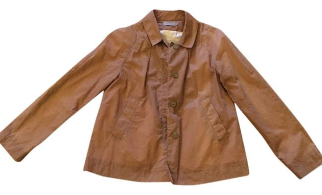 COS Casual Structured Cotton Short Soft Comfortable Water-repellant Water-resistant Cream/Khaki Jacket
