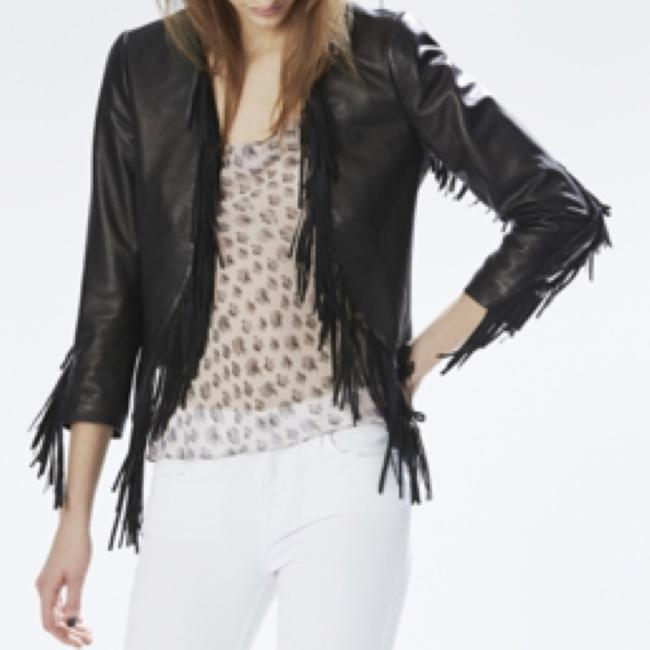 Rebecca Minkoff Blac Leather Jacket