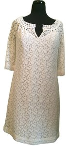 Nicole Miller Lined Lace Dress