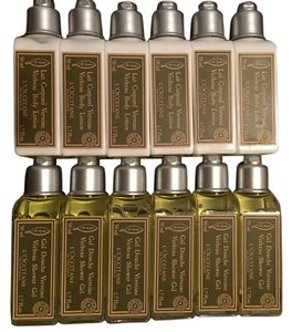 L'Occitane Loccitane Lotion and Body Wash - (Set of 12 Bottles)