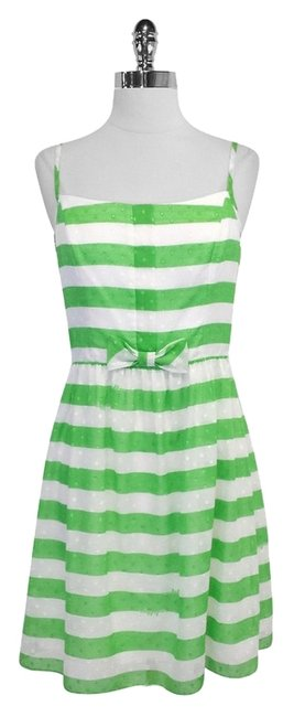Preload https://item2.tradesy.com/images/lilly-pulitzer-green-and-white-striped-spaghetti-strap-mini-short-casual-dress-size-4-s-4714801-0-0.jpg?width=400&height=650