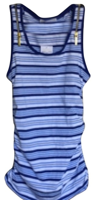Preload https://item1.tradesy.com/images/michael-kors-blue-and-white-striped-tank-topcami-size-6-s-4715065-0-0.jpg?width=400&height=650