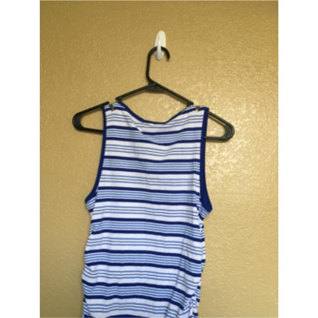 Michael Kors Top Blue and white