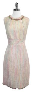 Trina Turk short dress Metallic Silk Tweed Sleeveless on Tradesy