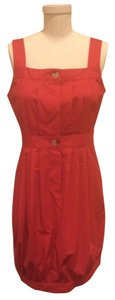 Theory short dress Red Sleeveless Vince on Tradesy