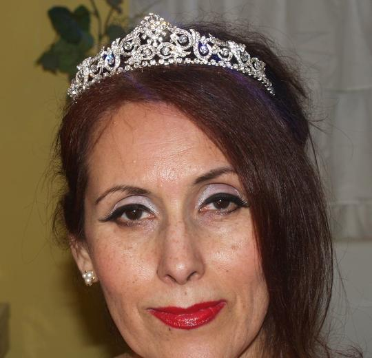Silver/Silver Fit A Princess Cr02 Tiara