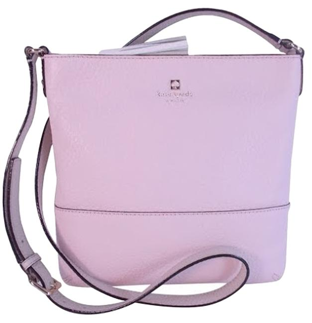 Item - South Port Ave Cora Cross Body Purse Pink Leather Messenger Bag
