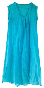 Matta short dress turquoise on Tradesy