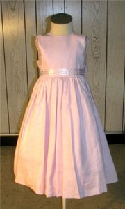 Pink Ladybug Style 1103 Flower Girl Dress - Size 3 (Mr194)