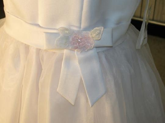 Eden 12131 Flower Girl/ Communion Dress - Size 6 White (mr-10)