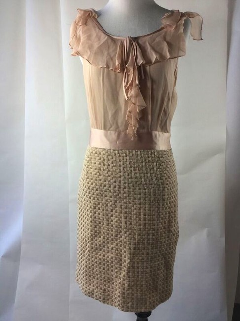 Preload https://item2.tradesy.com/images/milly-peachgold-skirt-suit-size-4-s-4716811-0-2.jpg?width=400&height=650