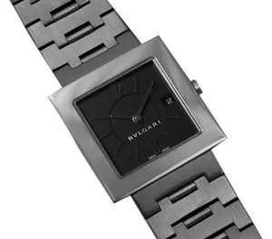 BVLGARI Bvlgari Bulgari Square Quadrato Mens Midsize / Unisex Watch, SQ 27SSD - Stainless Steel