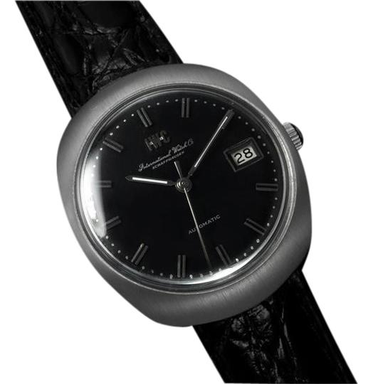 IWC 1969 IWC Vintage Mens Watch, Cal. 8541 Automatic, Black Dial with Date - Stainless Steel