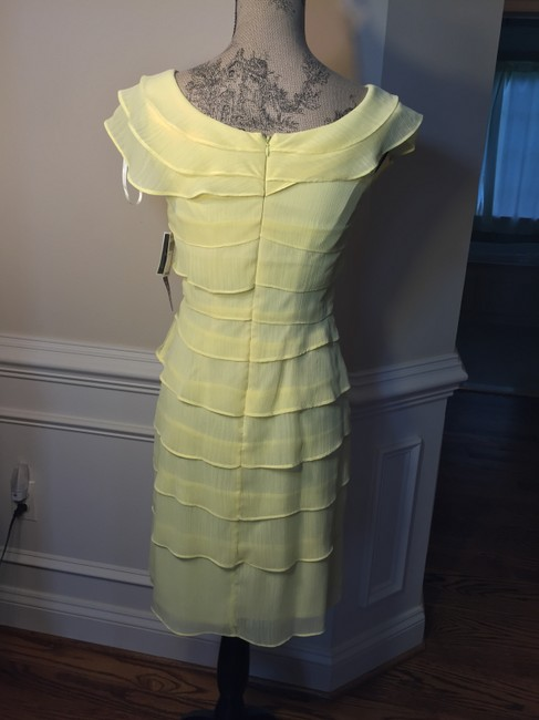 Madison Leigh short dress yellow on Tradesy