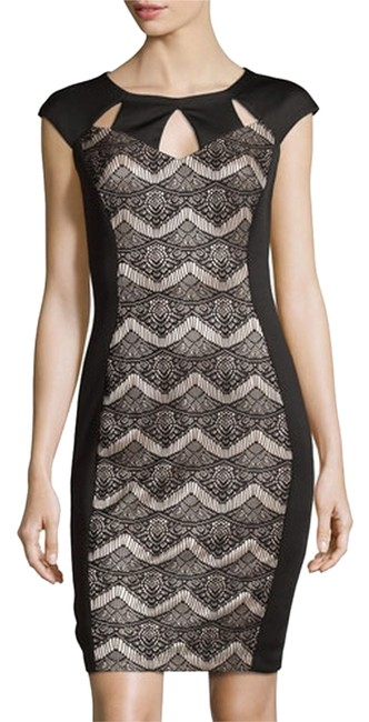 Preload https://item5.tradesy.com/images/jax-black-nude-lace-collection-cap-sleeve-sheath-mid-length-cocktail-dress-size-10-m-4717699-0-0.jpg?width=400&height=650