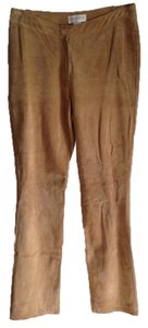 Hugo Buscati Straight Pants Tan Beige