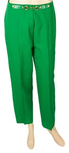 Céline Straight Pants Green