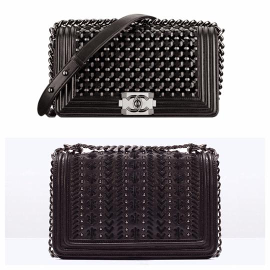 Zara Chanel Leather Purse Leather Cross Body Bag
