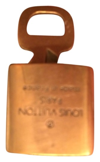Louis Vuitton Lv Brass Lock & Key