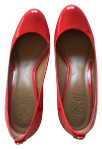Tory Burch Work Heels Red Pumps
