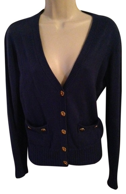 Item - Cardigan Purple Sweater