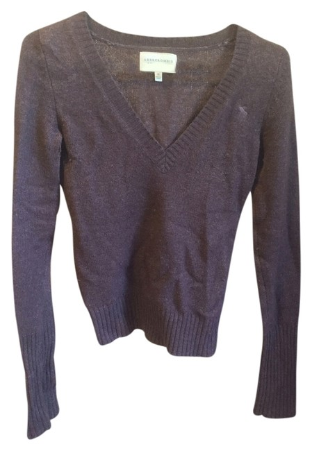 Preload https://img-static.tradesy.com/item/4718425/abercrombie-and-fitch-brown-classic-v-neck-sweaterpullover-size-8-m-0-0-650-650.jpg