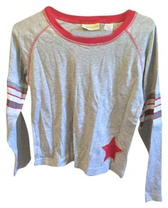 Lord & Taylor Long Sleeve T Shirt Gray