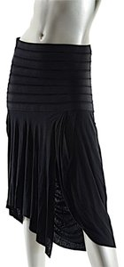 Rick Owens Viscose Olmar Mirta Skirt Black