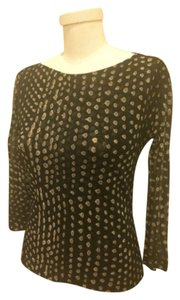 Max Mara Top Black gold