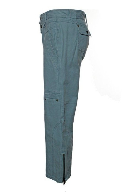 Marc Jacobs Cargo Twill Ankle Zip Capri/Cropped Pants Dusty Green
