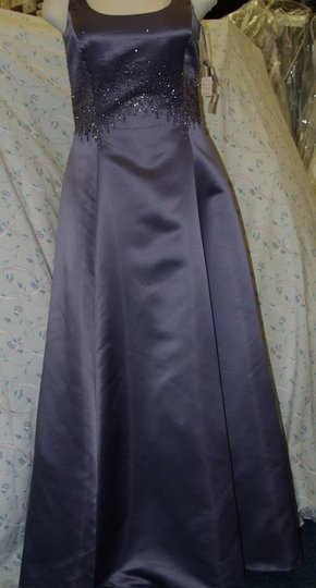 Jordan Fashions Other Satin Victoria Lilac Formal Bridesmaid/Mob Dress Size 16 (XL, Plus 0x)