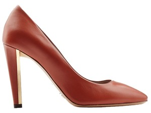 Chloé Rust / Caramel Pumps