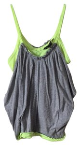 Marc by Marc Jacobs Top Heather Grey and Neon Green