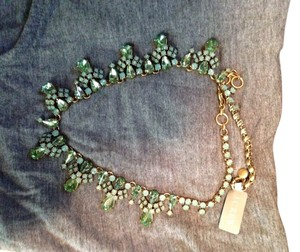 J.Crew Mint Green Necklace