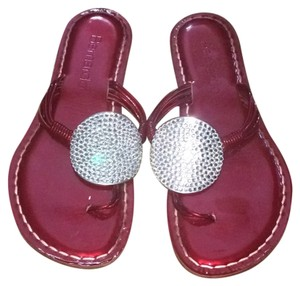 Bernardo Red Sandals