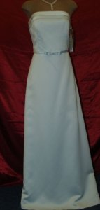 Jordan Fashions Jordan Ice Blue Size 12 Style #780 Wedding Dress