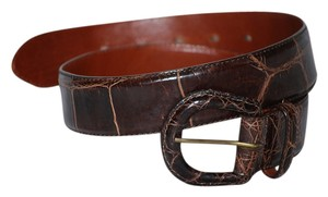 Ralph Lauren Ralph Lauren brown alligator belt