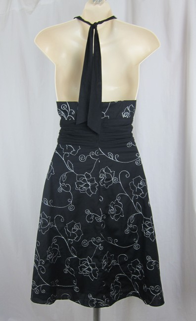 White House | Black Market Halter Cotton Sundress Flowers Dress