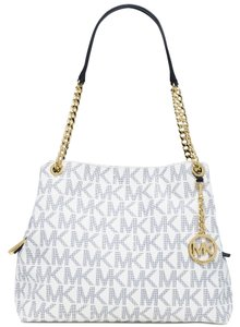 Michael Kors Tote in Navy/White/Gold
