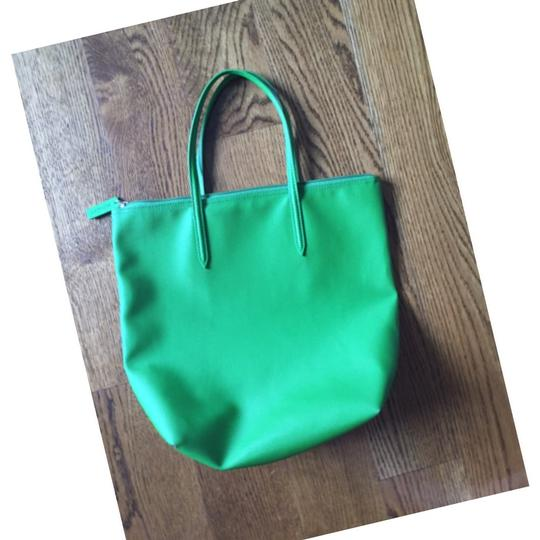 Lacoste Tote in green