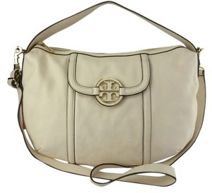 Tory Burch Amanda Leather Crossbody Hobo Shoulder Bag