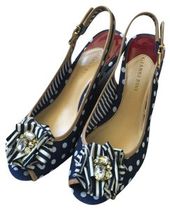 Gianni Bini Navy Wedges