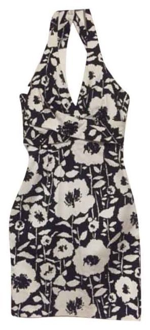 Preload https://item4.tradesy.com/images/donna-ricco-black-and-white-halter-top-knee-length-cocktail-dress-size-8-m-4722103-0-0.jpg?width=400&height=650